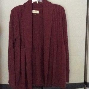 Sweater by Sonoma size xl burgundy